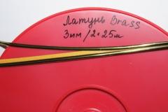 Свинцовая лента Латунь DL Oval Brass