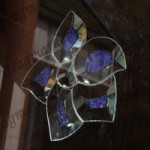 DB 134АO  - Фацет. Фацеты бабочки и цветы